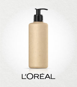The paper-based cosmetic bottle from L'Oréal