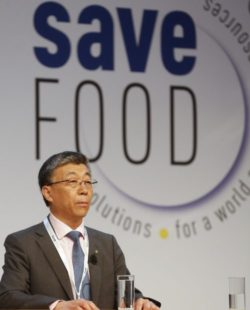 Photo: Dr. Ren Wang, Assistant Director-General, Agriculture and Consumer Protection Department, FAO -  © Messe Düsseldorf/Constanze Tillmann